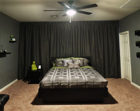 modern bachelors room modern bedroom las vegas