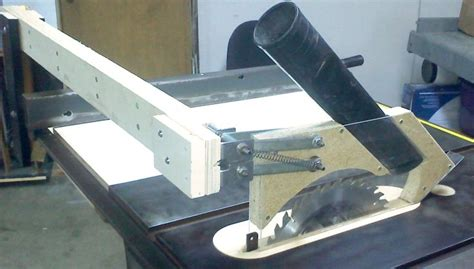 Table Saw Blade Guard Dust Collection.