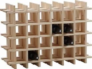 Casier à Bouteilles : casier vin en bois 24 bouteilles ~ Teatrodelosmanantiales.com Idées de Décoration