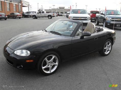 2003 Mazda Miata by Brilliant Black 2003 Mazda Mx 5 Miata Ls Roadster Exterior