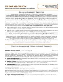 director of special education resume executive director resume sle non profit resume sles