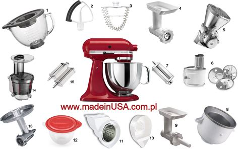 Kitchenaid Blender Attachment by Kitchenaid Mixer And All Attachments Www Madeinusa Pl