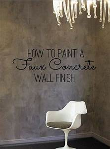 Best painting concrete walls ideas on