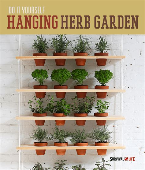 how to make an indoor vertical herb garden survival