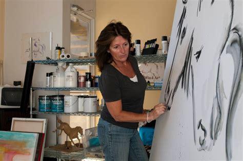 Contemporary Artist Donna B To Donate Modern Equine Art