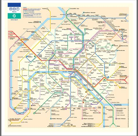 Carte Metro Rer by Map Rer