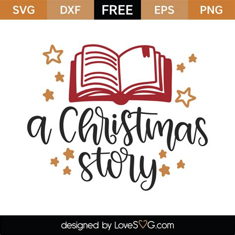 If you have a cricut, silhouette, or another cutting machine, christmas crafting just got a lot easier! Free A Christmas Story SVG Cut File - Lovesvg.com