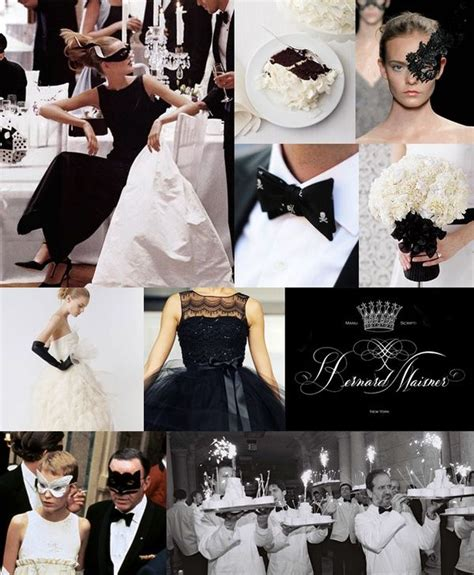 Black And White Masquerade Party Masquerade Dinner In