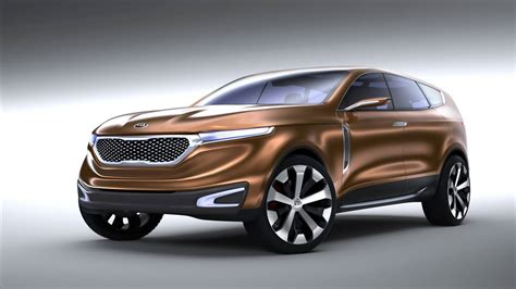 KIA Car :  Cross Gt Hints At Luxury Suv