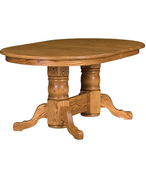amish dining table reviews traditional pedestal dining table amish direct