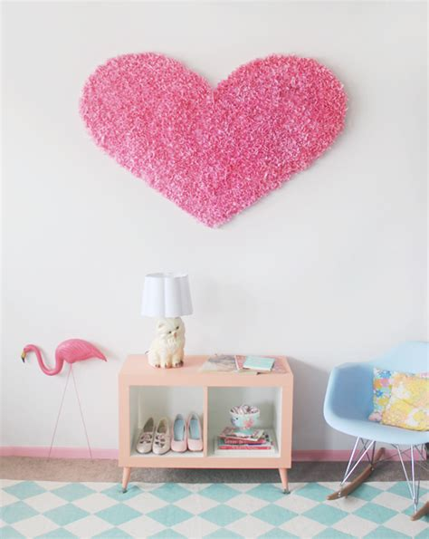 scathingly brilliant diy giant tissue paper heart