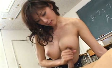 Busty Japanese Lady Riko Tachibana Rides Dick In College Room Video