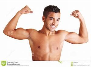 Image Homme Musclé : homme affichant les deux muscles de bras images libres de droits image 12958119 ~ Medecine-chirurgie-esthetiques.com Avis de Voitures