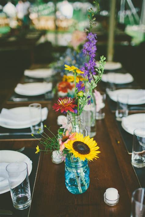 wildflowers wedding ideas  rustic boho weddings
