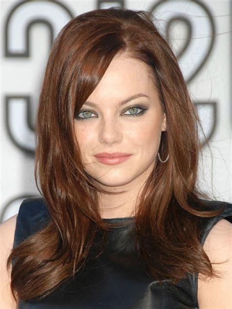 stunning emma stone hairstyles  haircut styles