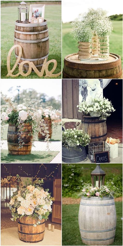 used rustic wedding decor best 25 outdoor tree decorations ideas only on