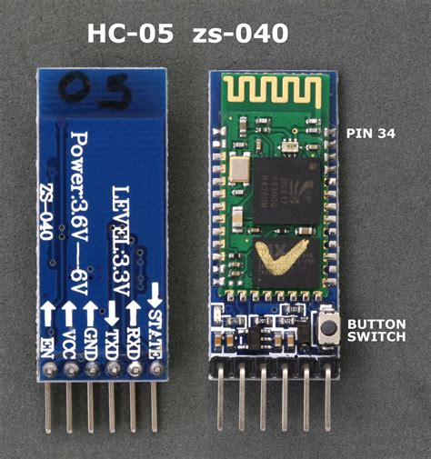 Arduino With Hc-05 Bluetooth Module In Slave Mode