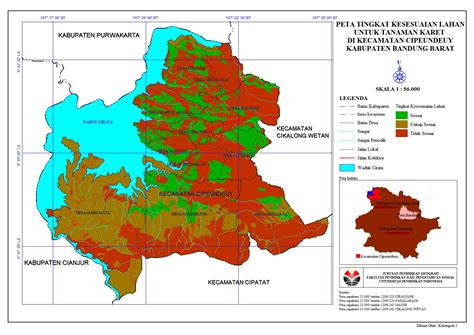 Oleh Oleh Bandung 24 Jam Hepta Blog Peta Parameter Kesesuaian Lahan