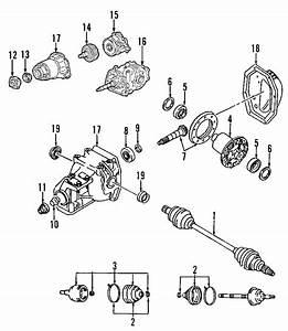 Mazda 6 Seal  Axle  4wd  Cx