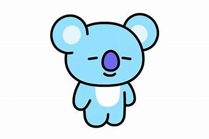 Bt21 Drawing Koya Mang Sticker Character Clipart