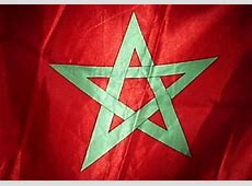 علم المملكة المغربية هو اللواء الأحمر الذي يتوسطه نجم أخضر