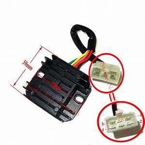 Aliexpress Com   Buy Gy6 50 150cc Scooter Voltage Regulator Rectifier 5 Wires Chinese Moped Go
