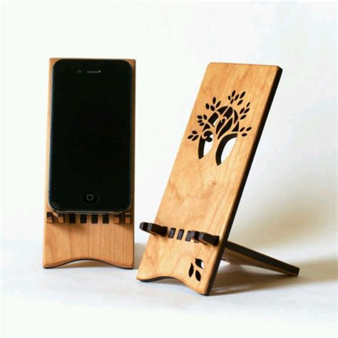 wooden iphone stand wooden iphone stand via etsy products i