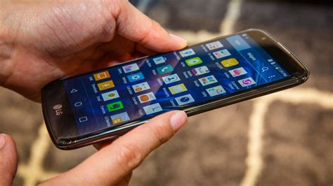 lg takes  design approach     smartphone hands  cnet