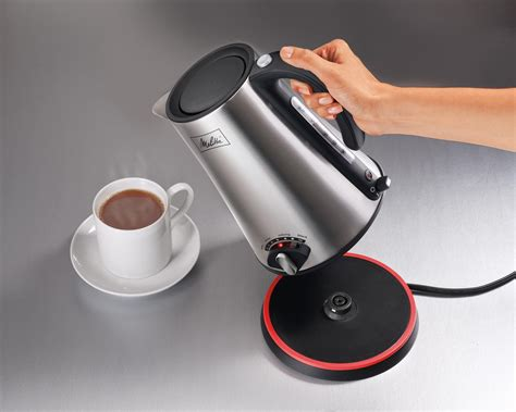 kettle electric tea cordless melitta kettles amazon liter water kitchen rated without