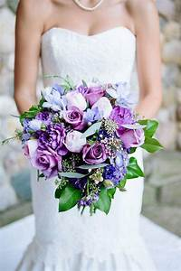 Wedding Ideas: 20 Gorgeous Purple Wedding Bouquets ...