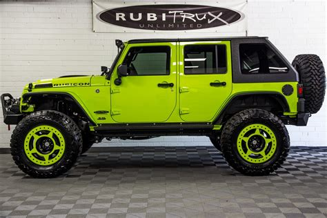 2017 Jeep Wrangler Rubicon Unlimited Hyper Green