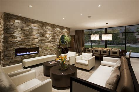 modern living room and kitchen design amazing modern living room white big tv and roof also 9765