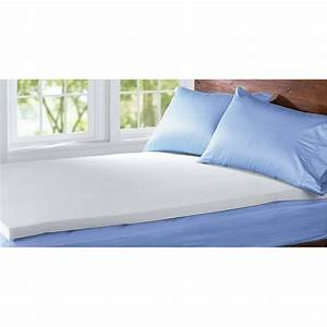 comfort revolution memory 3quot foam mattress topper 175406 With best mattress pads for comfort