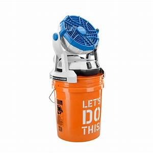 Arctic Cove 18-Volt Two Speed Misting Bucket Top Fan