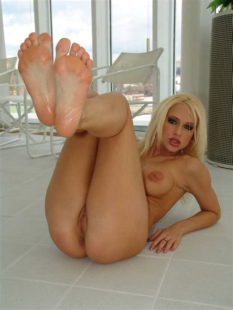 Foot Fetish Porno Busty Blondie Stacy Silver Does A