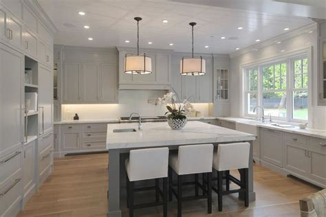 brand  designer kitchen  white  gray color