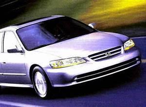Find 2001 Honda Accord 4-door Sedan Brochure