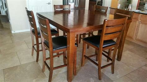 letgo counter height table 6 chairs in waddell az