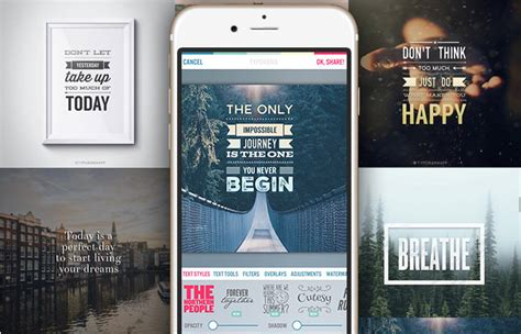 10 best mobile apps to create typography easily hongkiat