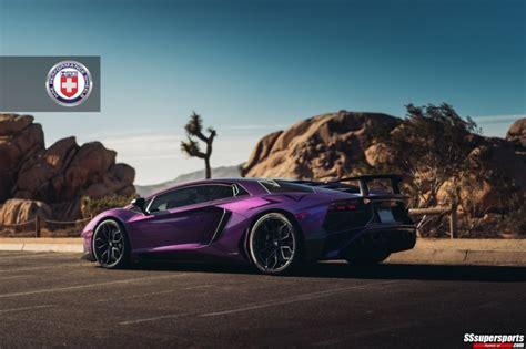 gallery purple lamborghini aventador sv  hre wheels