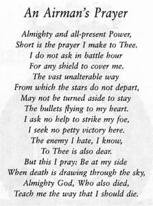 An Airman's Prayer | U.S.Air Force | Pinterest | Prayer