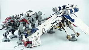 LEGO Star Wars: Republic Dropship with AT-OT 10195 Review ...