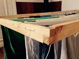 Wäscheständer Aus Holz : einen h ngenden w schest nder bauen geborgen wachsen ~ Indierocktalk.com Haus und Dekorationen