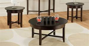 Demilune Coffee Table Set - Millbank Family Furniture