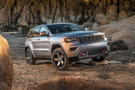 Jeep Grand Cherokee Trailhawk 2017 Review
