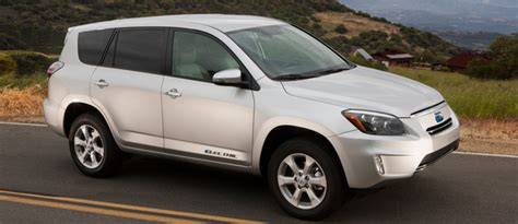 Toyota Rav4 Electric by Toyota S New Rav4 Ev An Electric Vehicle With A Shocking
