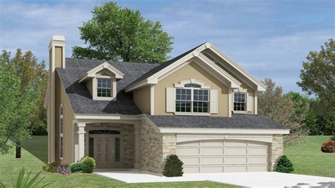 Simple Twostory House Small Two Story Narrow Lot House