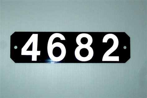 house number sign for l post pin by sterling hall on reflective address signs pinterest