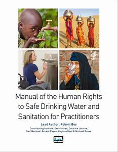 Manual On The Human Rights To Safe Drinking Water And