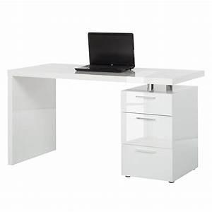Schreibtisch Mit Schubladen Weiß : schreibtisch hochglanz preisvergleiche erfahrungsberichte und kauf bei nextag ~ Indierocktalk.com Haus und Dekorationen